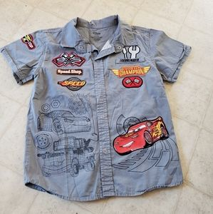 Boys snap up shirts lighting McQueen s (5-6)